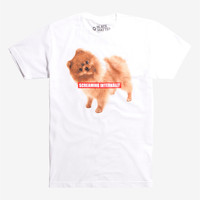 Dog Screaming Internally T-Shirt