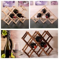 Classical Wooden Wine Rack