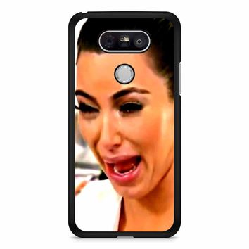 Kim Kardashian Crying LG G5 Case