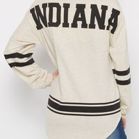 Indiana Love Rainbow Speckled Sweatshirt | Sweatshirts | rue21