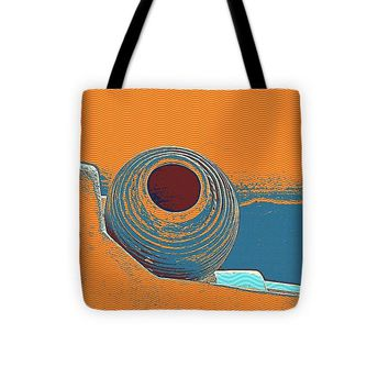 Santorini Greek Island Caldera, Greece 8 - Tote Bag