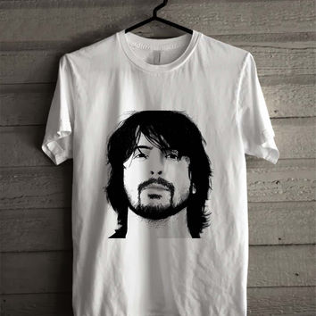 Dave Grohl Foo Fighters Sketch 724 Shirt For Man And Woman / Tshirt / Custom Shirt