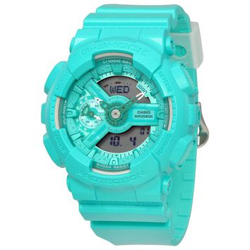 Casio G-Shock S Series Ladies Turquoise Watch GMAS110VC-3A
