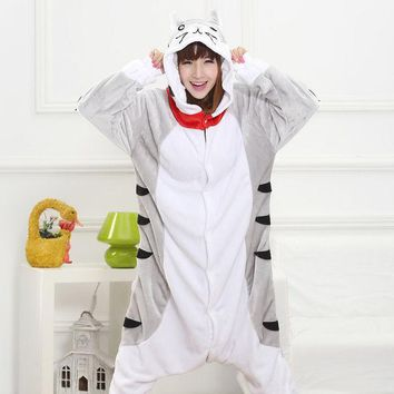PEAPIX3 Couple Sleepwear Animal Cartoons Unisex Set Halloween Costume [9220979140]