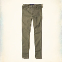 Girls Hollister High-Rise Jean Leggings | Girls Bottoms | HollisterCo.com