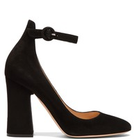 Greta block-heel suede pumps | Gianvito Rossi | MATCHESFASHION.COM US