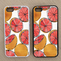 Cute Vintage Fruit Pattern iPhone Case, iPhone 5 Case, iPhone 4S Case, iPhone 4 Case - SKU: 190