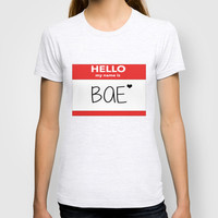 Hello My Name is Bae T-shirt by Poppo Inc. | Society6