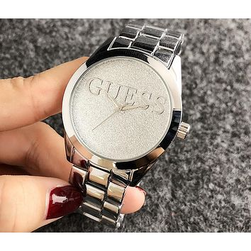 GUESS 2018 new men and women couple watch quartz watch F-H-JH 1