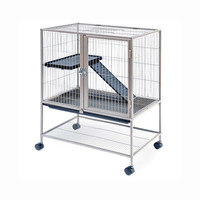 Prevue Hendryx Frisky Ferret Small Animal Cage With Plastic Ramp And Ladder