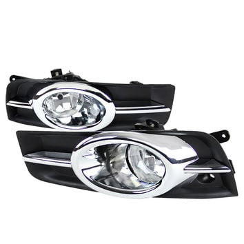 CHEVY 11-12 CHEVY CRUZE OEM FOG LIGHTS CLEAR     2011,2012