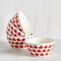 Critters Hop Over to my Table Bowl Set by ModCloth