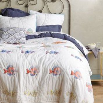 Seadrifter Quilt by Anthropologie Multi