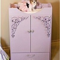 Couture Paisley Armoire- Beds, Blankets & Furniture - Wardrobe Cabinets Posh Puppy Boutique