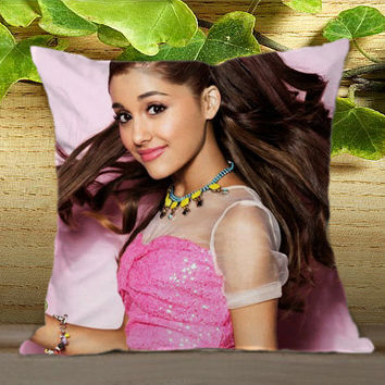 Ariana Grande Cover on Pillow Cover
