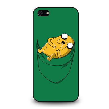 ADVENTURE TIME JAKE POCKET iPhone 5 / 5S / SE Case Cover