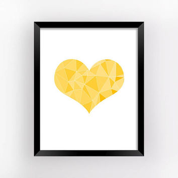 Valentine Decor, Love Print, Wall Art, Heart Art, Bedroom Wall Decor, Romantic Gifts For Him, Wall Poster, Love Gift | MAGFEM ART #22