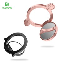 FLOVEME Metal Phone Holder Stand Finger Pop Ring Lover Phone Support Accessories