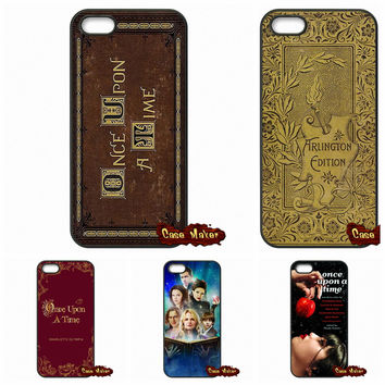 Once Upon A Time Book Phone Cases For iPhone SE 4 4S 5S 5 5C 6 6S Plus