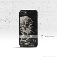 Skull & Cigarette Case Cover for Apple iPhone 7 6s 6 SE 5s 5 5c 4s 4 Plus & iPod Touch
