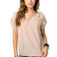 Christy Roll Sleeve Tee