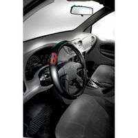 Boston Red Sox MLB Steering Wheel Cover (14.5 to 15.5)