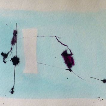 Saatchi Art: Minimalist Abstract Drawing 1 Drawing by Frederic Belaubre