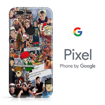 5SOS Christmas Collection Google Pixel Phone 3D Case