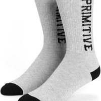 Primitive Slab Type Crew Socks