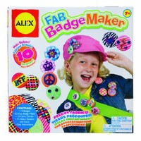 ALEX Toys Craft Fab Badge Maker