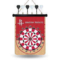 Houston Rockets NBA Magnetic Dart Board