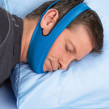 Anti Snore Chin Strap, Stop Snoring Belt, Anti Snoring Chin Jaw Supporter, Anti Snore Apnea Belt for woman care sleep products