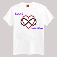Infinity- Louis Tomlinson Small -2 XL Short Sleeve TShirt