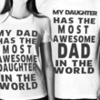 Dad And Daughter | Besties Tees