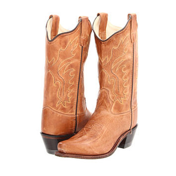 Old West Kids Boots Western Snip Toe Boot (Toddler/Little Kid)
