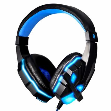 Computer Stereo 3.5mm Gaming Headphones for Laptop Tablet Mobile Phone