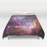 Small Magellanic Cloud Duvet Cover by SuzanneCarter | Society6
