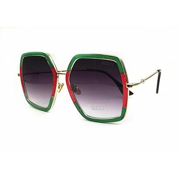 a35807af7763b Gucci GG0062S 003 Gold   Green GG0062S Aviator Sunglasses Lens Category