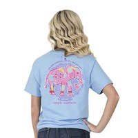 "Simply Southern ""Preppy Elepine"" Short Sleeve Tee SALE"