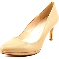 Alfani Glorria 2 Women Round Toe Synthetic Nude Heels