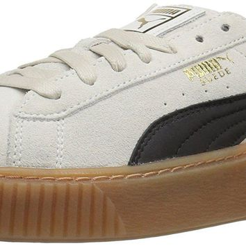 puma women s suede platform core fashion sneaker  number 1