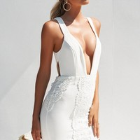 Rewrite The Stars Dress (White)