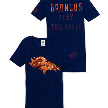 Denver Broncos Bling Tee - PINK - Victoria's Secret