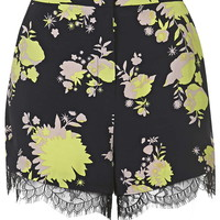 Safari Print Shorts - Topshop