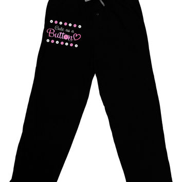 Cute As A Button Adult Lounge Pants