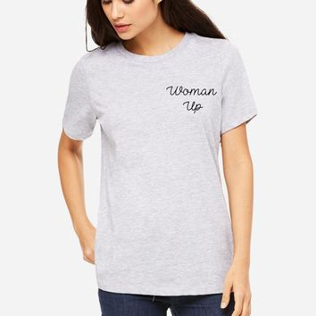 Woman Up Graphic Tee
