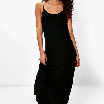 Tall Bella Low Back Maxi Dress | Boohoo