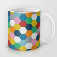 Honeycomb 3 Mug by Project M
