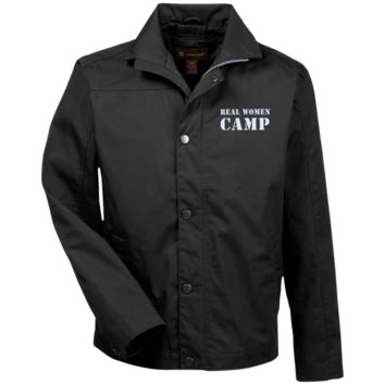 Real women Camp Canvas Work Jacket