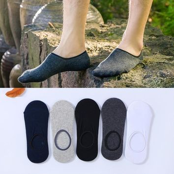 Cotton women low ankle boat socks invisible silicon gel slipper girl boy hosiery 1pair=2pcs ws158